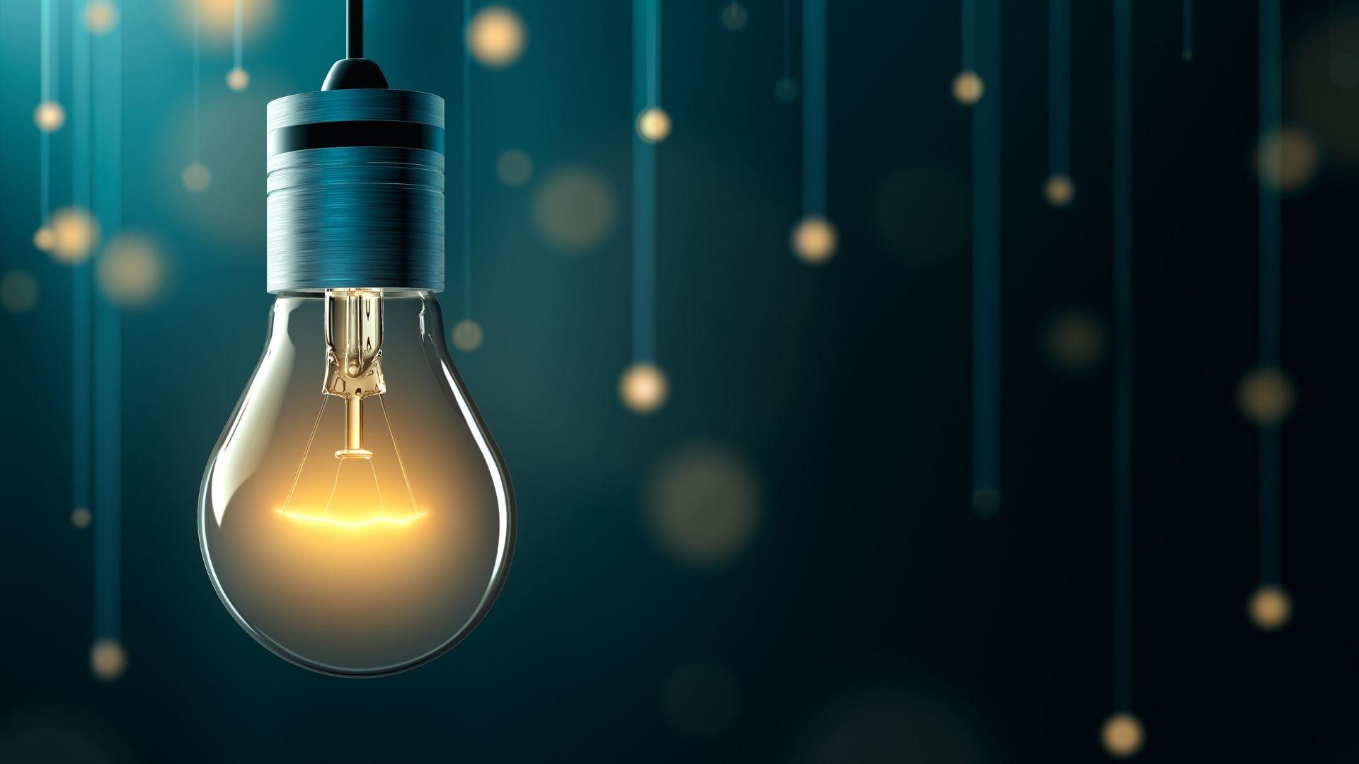 Business Transfromation Lightbulb Idea